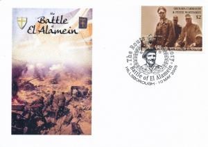 [96841] Grenada Carr. Mart. 2005 WWII Battle of El Alamein Special Cachet Cover