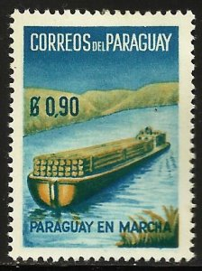Paraguay 1961 Scott# 578 MH