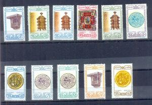 EGYPT - 1989 - 1991 Airmail Regular Stamps SC # C93 - C203 Complete set   MNH