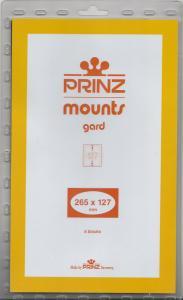 PRINZ CLEAR MOUNTS 265X127 (5) RETAIL PRICE $11.50