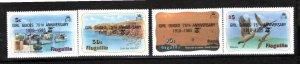Anguilla 1985 Sc 640-3 MNH Commemorative Perforate
