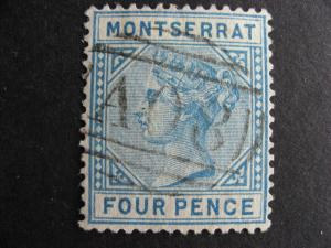 MONTSERRAT Sc 4 U a nice stamp here, check it out!