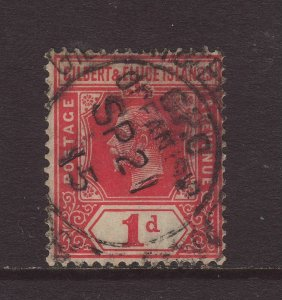 1915 Gilbert & Ellice Is 1d With Ocean Island CDS SG13a