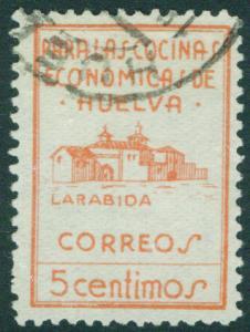 SPAIN Civil War 1936 HUELVA (Provincial Stamp) Galvez 330