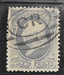US # 156  1c Franklin   (U) CV. $6.00