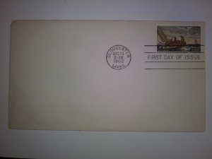 SCOTT #1207 WINSLOW HOMER SINGLE FIRST DAY OF ISSUE