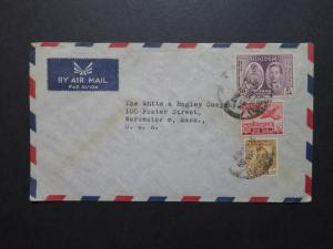 Iraq 1954 Commercial Cover to USA (VI) - Z8602