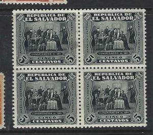 SALVADOR  (P2403BB)  SC 498  BL OF 4,  2  MNH
