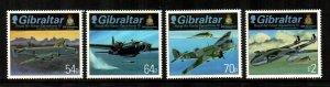 Gibraltar #1522-1525  MNH  Scott $12.00