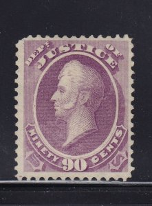 O34 VF unused ( mint no gum ) with nice color cv $ 800  ! see pic !