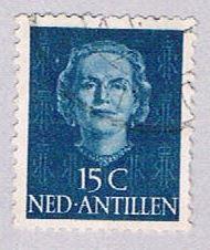 Netherlands Antilles 218 Used Queen Juliana 1950 (BP33317)