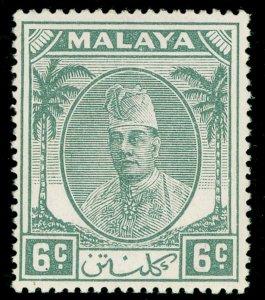 MALAYSIA - Kelantan SG66, 6c grey, NH MINT.