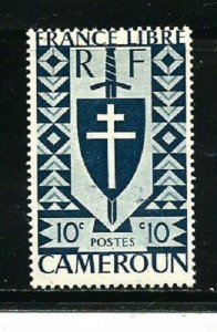 Cameroon Stamps- Scott # 283/A23-Mint/LH-10c-1941-OG