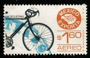 Bicicletas, Mexico, $1.60, MNH (T-6337)
