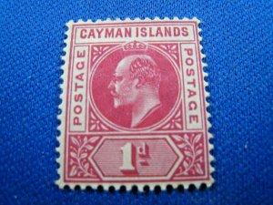 CAYMAN ISLANDS 1905  -  SCOTT # 9    MH