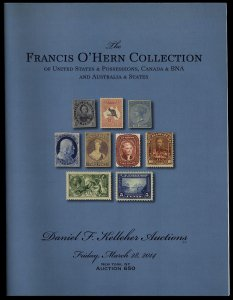 Kelleher catalog: Sale 650 The Francis O'Hern Collection March 28, 2014
