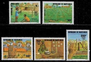 Burkina Faso #633-7 MNH Set - Anti-Deforestation