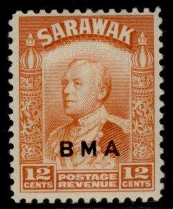 SARAWAK GVI SG134, 12c orange, M MINT.