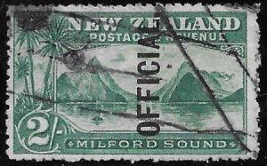 New Zealand   O-29   1907    2  sh  fine used