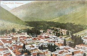 Peru Color Postcard 1922 Tarma Panorama To NJ