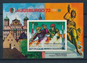 [55641] Equatorial Guinea 1972 Olympic games Munich Canoeing MNH Sheet
