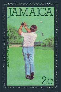 Jamaica 466,MNH.Michel 467. Tourism 1979.Golfing.