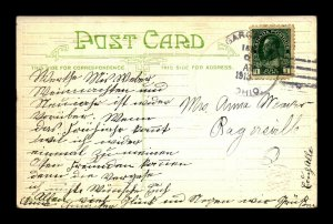 1913 Sugar Creek Ohio Illegal Use of Canadian Stamp - L30309