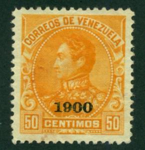 Venezuela 1900 #159 MNG SCV (2018) = $23.00