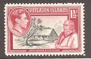Pitcairn Islands 3 Mint VF H