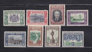 Southern Rhodesia 56-63 Set MH Various