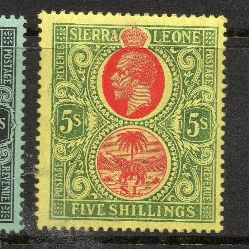 Sierra Leone 1912 Early Issue Fine Mint Hinged 5S. 303567
