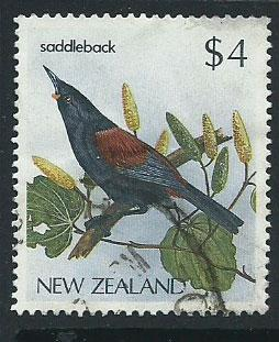 New Zealand SG 1295  Used   light crease shows on reverse