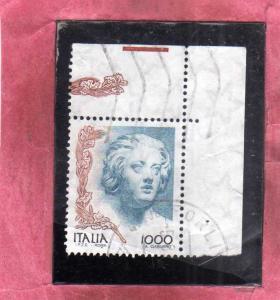 ITALIA REPUBBLICA ITALY REPUBLIC 1998 LA DONNA NELL´ARTE WOMAN IN ART COSTAN...