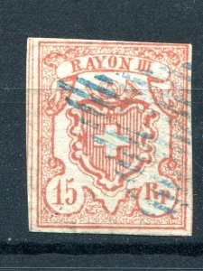 Switzerland  #12  Used VF  - Lakeshore Philatelics