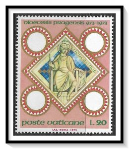 Vatican City #541 Millenium Of Prague Diocese MNH