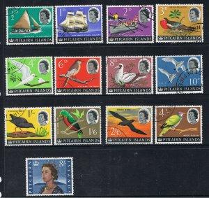 PITCAIRN ISLANDS 1964 - 65 QUEEN ELIZABETH II & THE BOUNTY