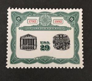 U.S. 1992 #2630, MNH, @Face= $.29