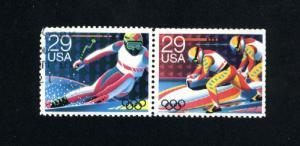 USA #2614-15  2 used pair 1992 PD