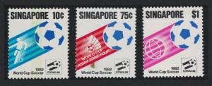 Singapore World Cup Football Championship Spain 3v SG#424-426
