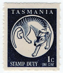 (I.B) Australia - Tasmania Revenue : Stamp Duty 1c