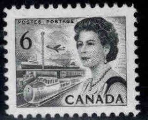 Canada Scott 460f MNH** QE2 stamp Type 2 perf 12