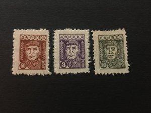 china liberated area stamp set, MNH, shandong zone, Zhude figure, list#130
