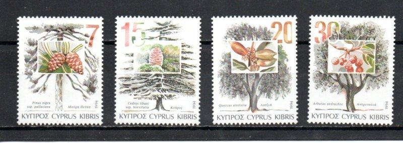 Cyprus 835-838 MNH