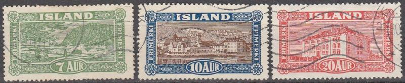 Iceland #144-6  F-VF Used CV $12.00 (A13894)