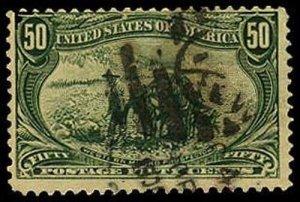 U.S. TRANS-MISS. ISSUE 291  Used (ID # 37325)
