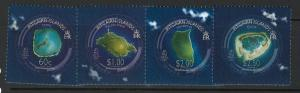 Pitcairn Islands 665 MNH! Pictures from Satellite!