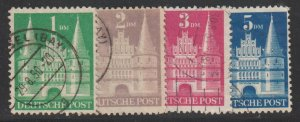 GERMANY Scott 658-61 Used