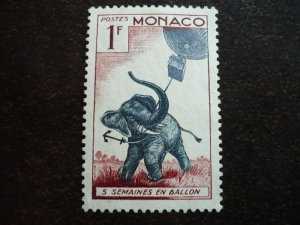 Monaco - Jules Verne - 5 Weeks in a Balloon