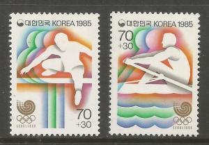 KOREA, B21-B22, HR, TRACK AND FIELD