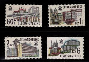 Czechoslovakia Scott 2192-95l set